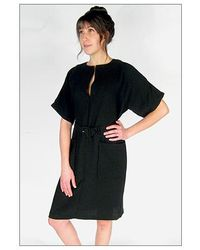 Rachel Comey Ruse Dress in Black Double Georgette - Lyst