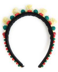Masterpeace - Lucky Cat Embellished Headband - Lyst