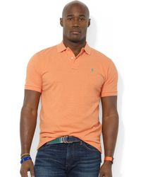 Ralph Lauren Polo Big and Tall Classicfit Mesh Polo - Lyst