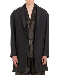 Balenciaga Two-Button Drop-Shoulder Sportcoat - Lyst
