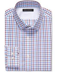 Banana Republic Tailored Slim-Fit Non-Iron Dobby Shirt - Lyst