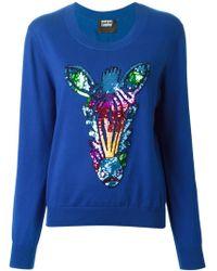 Markus Lupfer Sequin Sweater - Lyst
