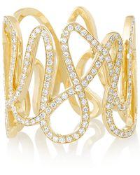 Repossi White Noise 18karat Gold Diamond Ring - Lyst