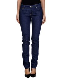 RED Valentino Denim Pants - Lyst