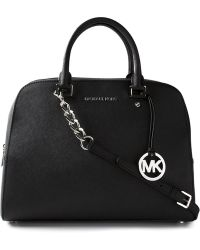 MICHAEL Michael Kors Large Jet Set Satchel - Lyst