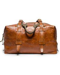 Kaufmann Mercantile Soft Leather Weekender Bag - Lyst