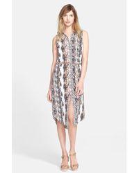 Equipment 'Teagan' Print Silk Dress - Lyst