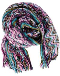 Missoni Squiggly Pattern Scarf - Lyst
