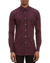 Paul Smith Solid Slimfit Dress Shirt - Lyst