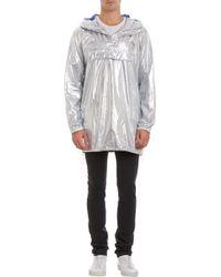 Acne Studios Metallic Pullover Jacket - Lyst