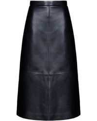 DSquared² 3/4 Length Skirt black - Lyst