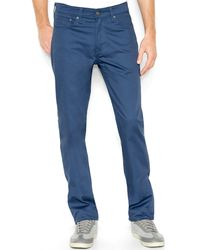 Levi's Commuter Ensign Blue Twill - Lyst