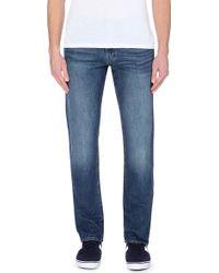 """Ralph Lauren Varick Slim-Fit Straight Jeans 32"""" - For Men - Lyst"""