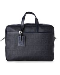 Fendi Black Blackboard Briefcase - Lyst