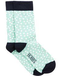 Hobbs - Random Spot Sock - Lyst