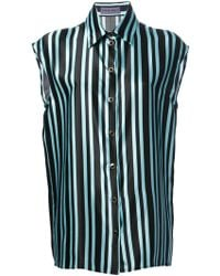 Emanuel Ungaro Striped Shirt - Lyst