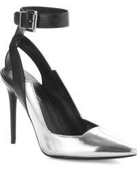 Kenneth Cole Watts Ankle Strap Stilettos - Lyst