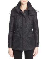 Burberry Brit - Short Bosworth Quilted Jacket - Lyst