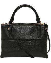 COACH - Mini Borough Grained Leather Top Handle - Lyst