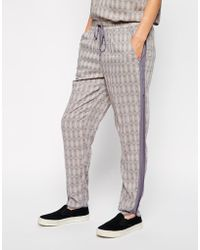 Selected Urda Printed Pants - Lyst