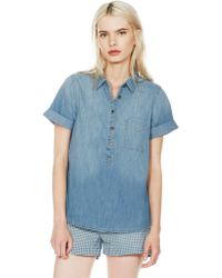 Current/Elliott The Popover blue - Lyst