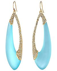 Alexis Bittar Encrusted Asymmetrical Tear Earrings - Lyst