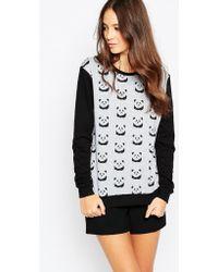 Sugarhill - Panda Sweatshirt - Lyst
