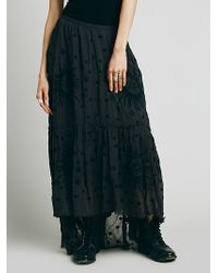 Free People Celestial Breeze Skirt - Lyst