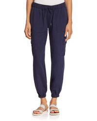 Joie Markell Jogger Pants blue - Lyst