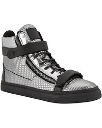 Giuseppe Zanotti Double Bangle Disco High Top Sneaker - Lyst