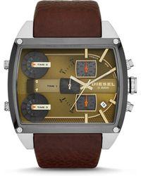 Diesel Brown Watches - Lyst