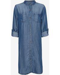 Rails   Exclusive Dark Denim Shirt Dress   Lyst