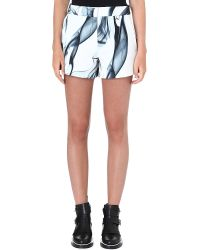 Maje Printed Polyester Shorts Imprime - Lyst
