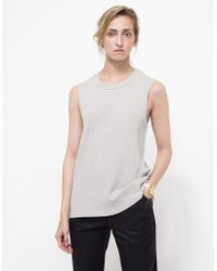 Which We Want Ren Muscle Tank gray - Lyst
