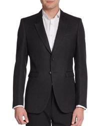 Burberry Prorsum Slim Wool Sportcoat - Lyst