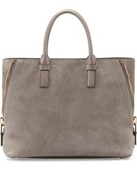 Tom Ford Jennifer Medium Trap Suede Tote Bag - Lyst