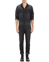 Bliss and Mischief - Chambray Mechanics Jumpsuit - Lyst