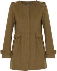 Isabel Marant Zoya Wool and Cotton-blend Coat - Lyst