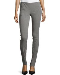 Donna Karan New York Pull-On Pants With Seam Detail - Lyst