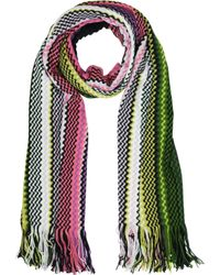 Missoni | Waves Wool Blend Fringed Stole | Lyst