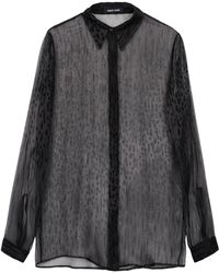 Damir Doma Long Sleeve Shirt - Lyst