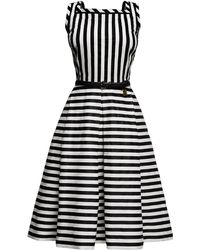 Rumour London - Riviera Striped Sleeveless Dress - Lyst