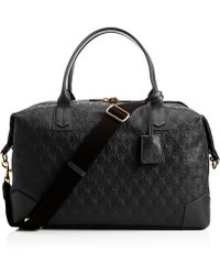 Liberty | Black Iphis Leather Regent Weekend Bag | Lyst
