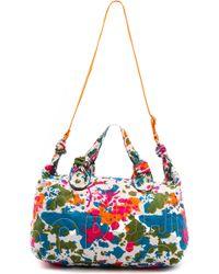 Marc By Marc Jacobs - Pretty Nylon Paint Blob Weekender Bag Orange Multi - Lyst