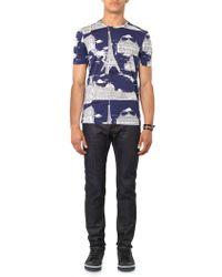 Burberry Prorsum - Raw-Denim Skinny Jeans - Lyst