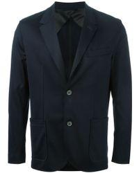 Lanvin Blue Classic Blazer - Lyst