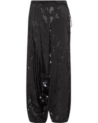 Yohji Yamamoto Regulation - Hawthorne Devoré Wide-Leg Pants - Lyst