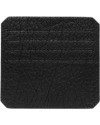 Parabellum | black Black Leather Cardholder | Lyst