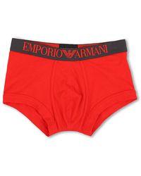 Emporio Armani Coloured Stretch Cotton Boxer Brief - Lyst
