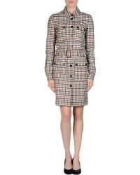 Aquascutum Short Dress - Lyst